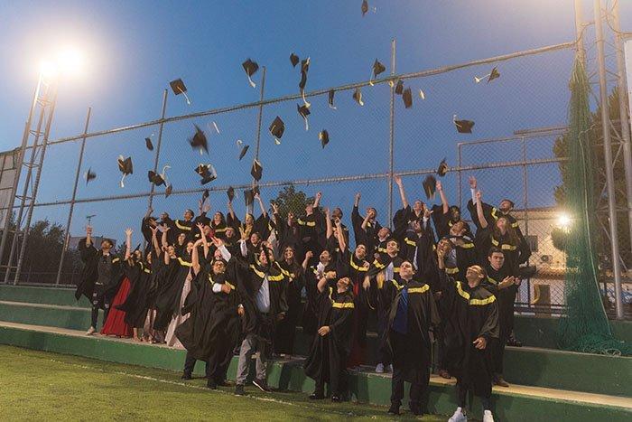 Μια αλλιώτικη τελετή αποφοίτησης του Γυμνασίου-Λυκείου «ΟΛΥΜΠΙΟΝ»
